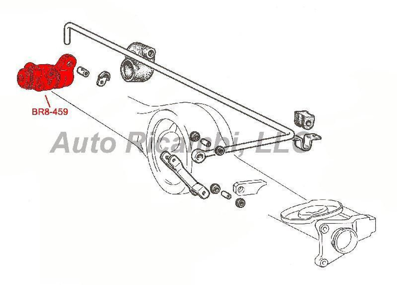 Brake Compensator or Pressure Regulator
