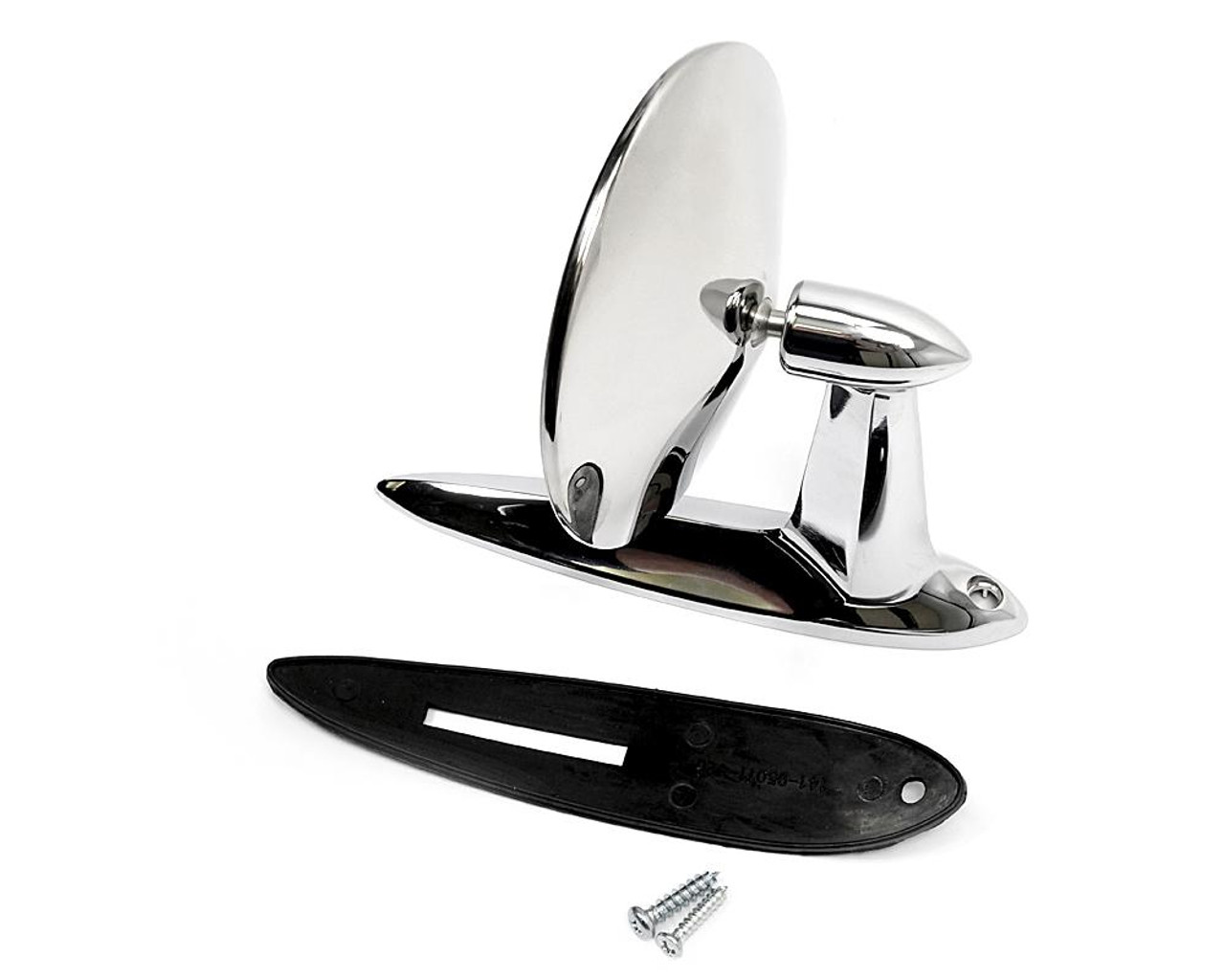 Exterior Stainless Chrome Rearview Mirror