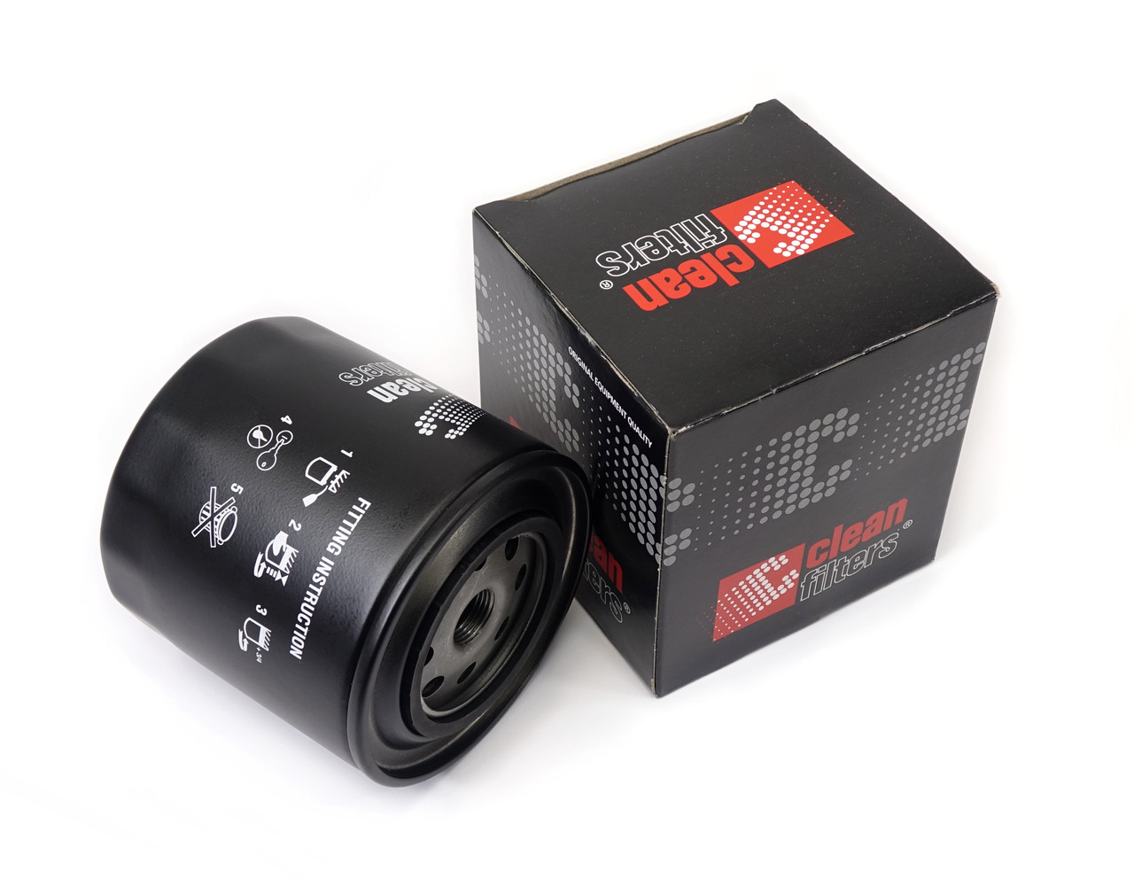 High performance CLEAN oil filter - Auto Ricambi FIAT 124 Spider, Sport Coupe, Spider 2000 and Pininfarina - 1966-1985