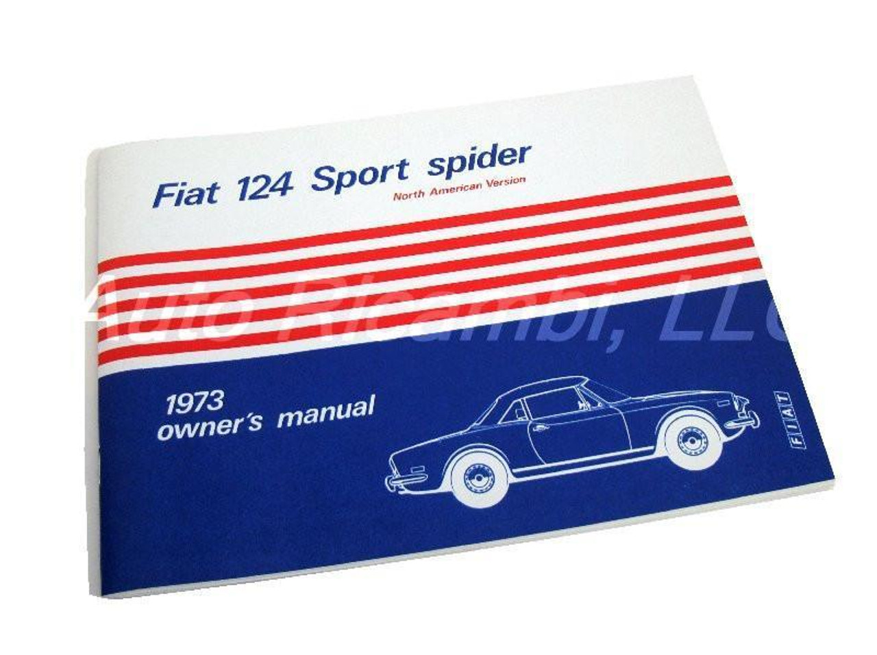 Owners Manual - 1973