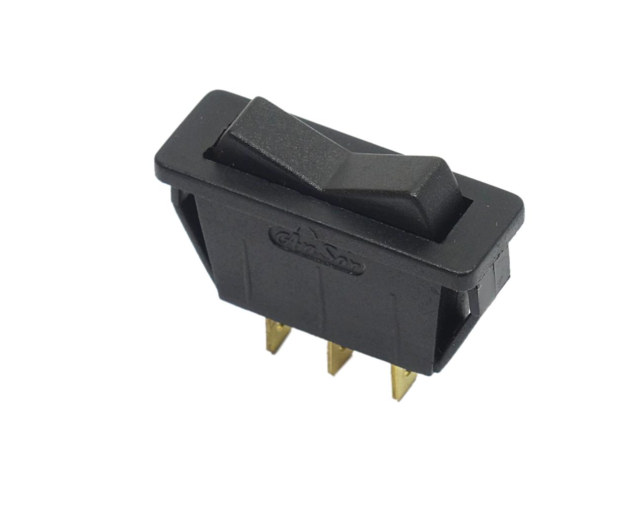 Heater Fan Switch - Black