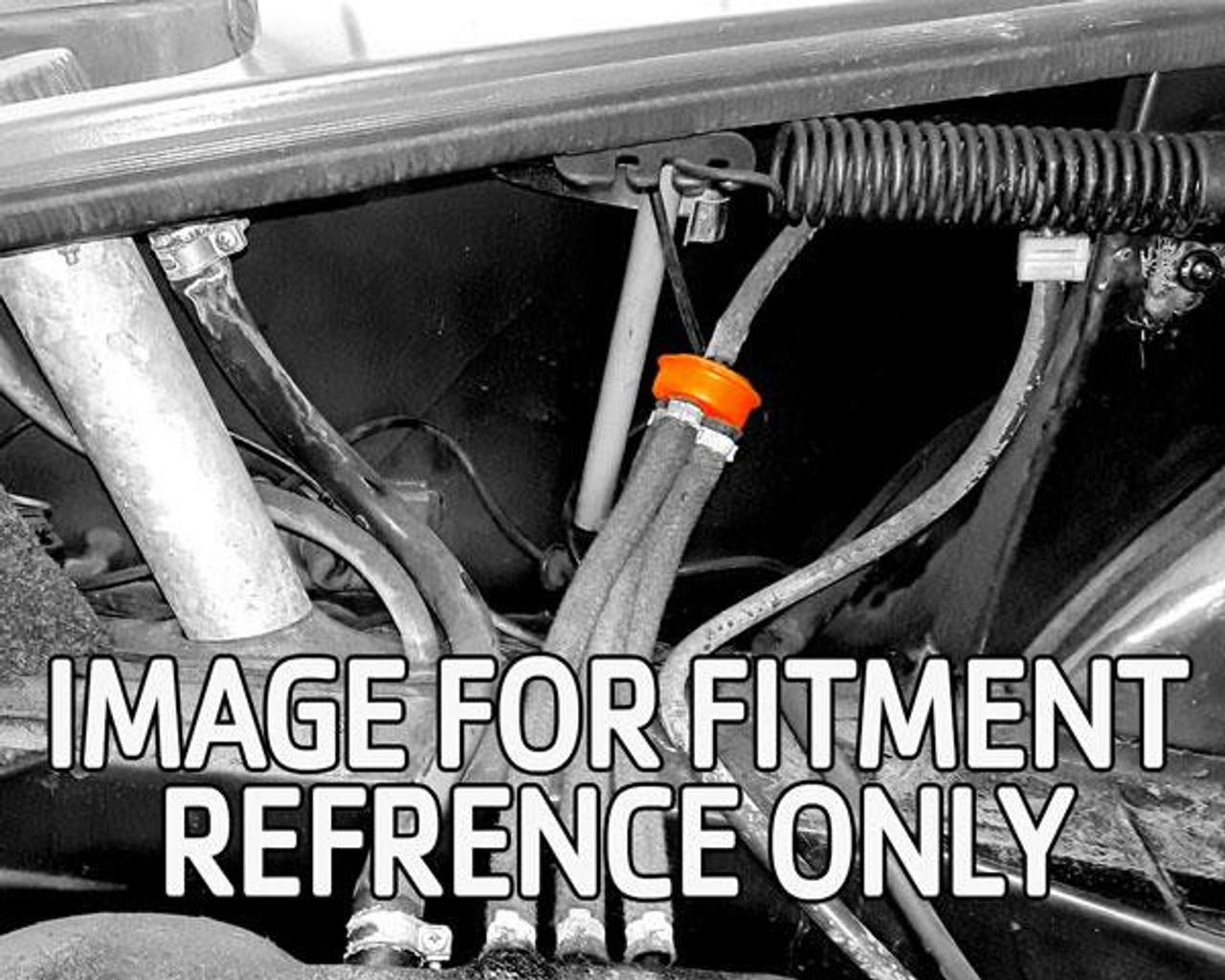 Fuel or gas vapor 3 to 1 union - FIAT 124 1978-85