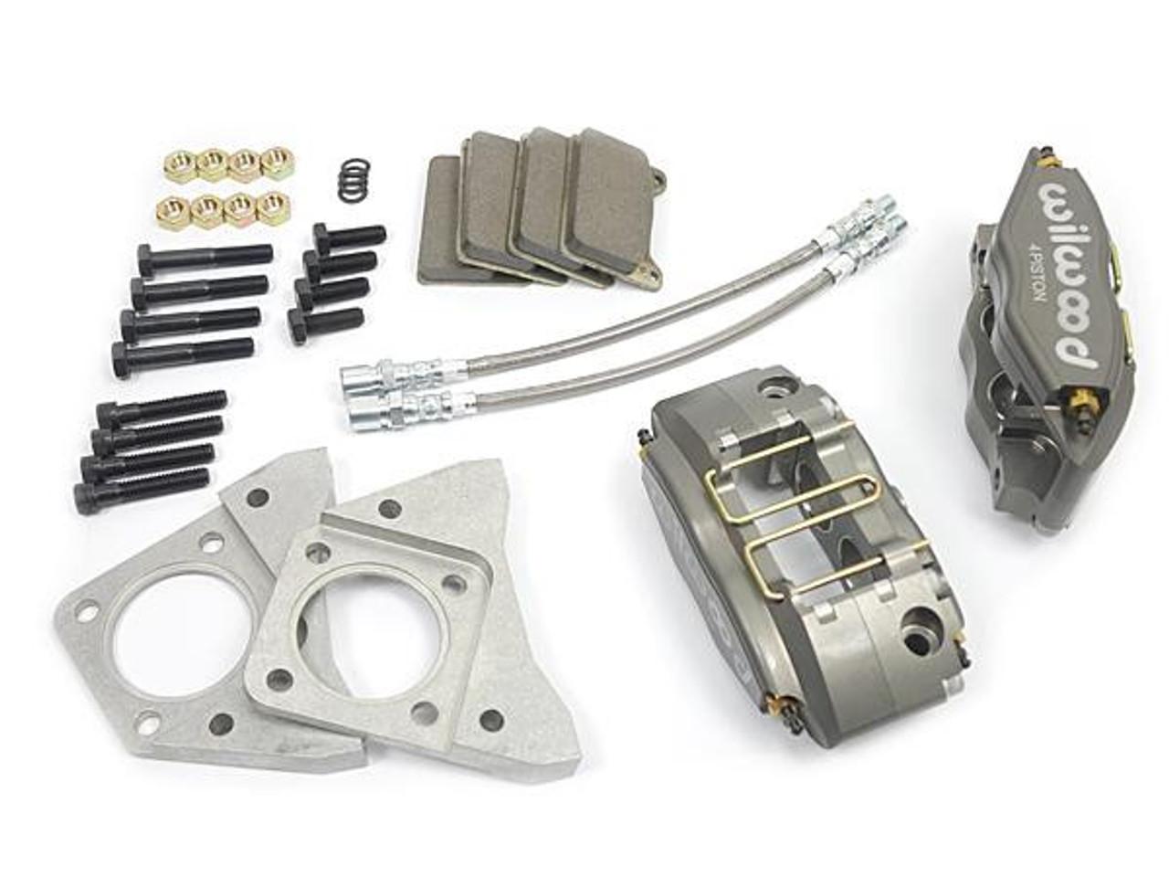 Wilwood big brake caliper kit for stock size brake rotors FIAT 124 Spider, Sport Coupe, Spider 2000 and Pininfarina - 1966-1985 - Auto Ricambi