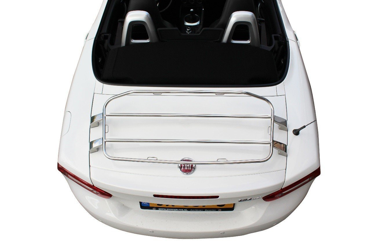2017-on 124 Spider Stainless Steel Luggage Rack