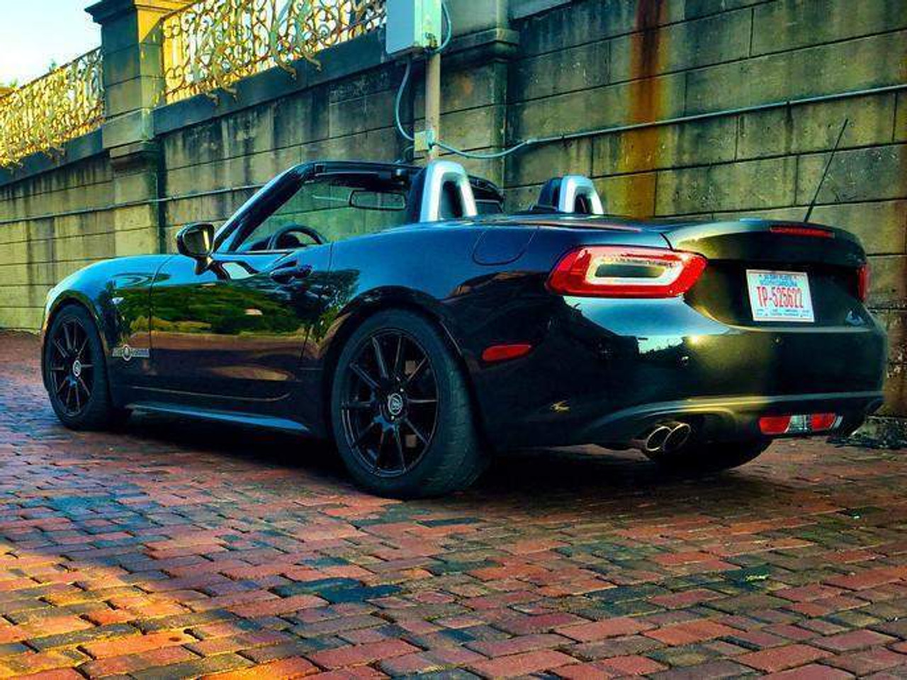 Stainless Exhaust - 2017-on 124 Spider