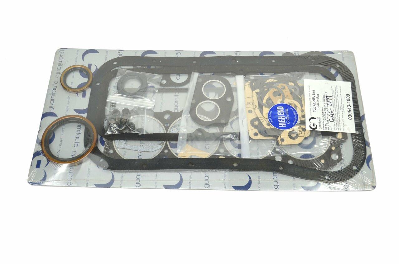 Auto Ricambi Complete Gasket Set - 1438cc OHV FIAT 124 Spider Parts