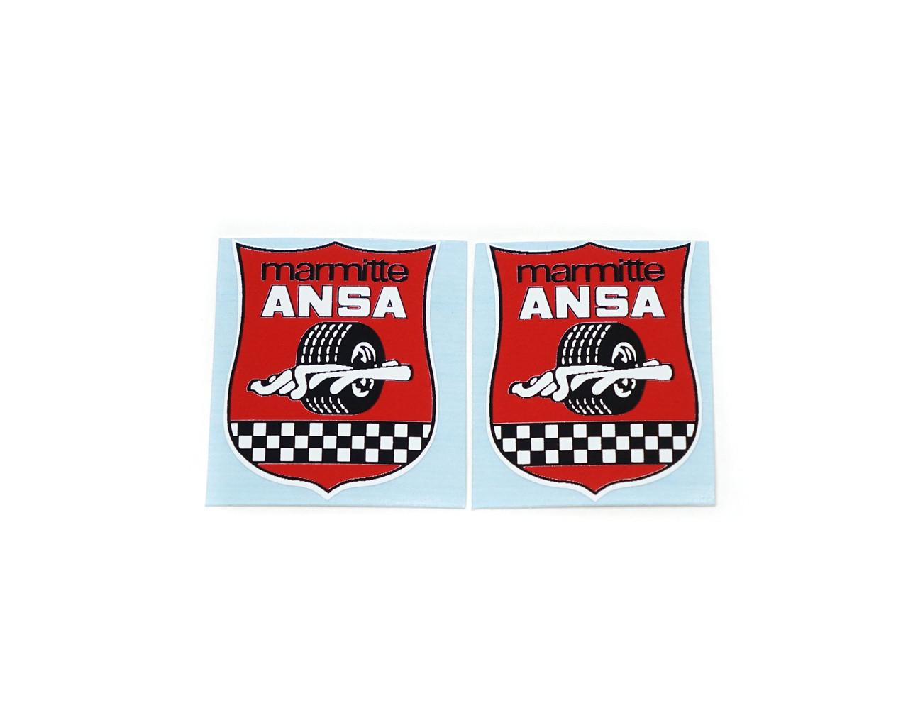 Marmitte Ansa Decal Pair - Small