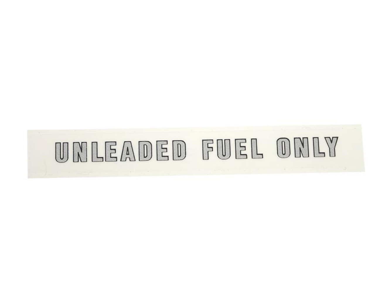 Fuel Decal - UNLEADED FUEL ONLY