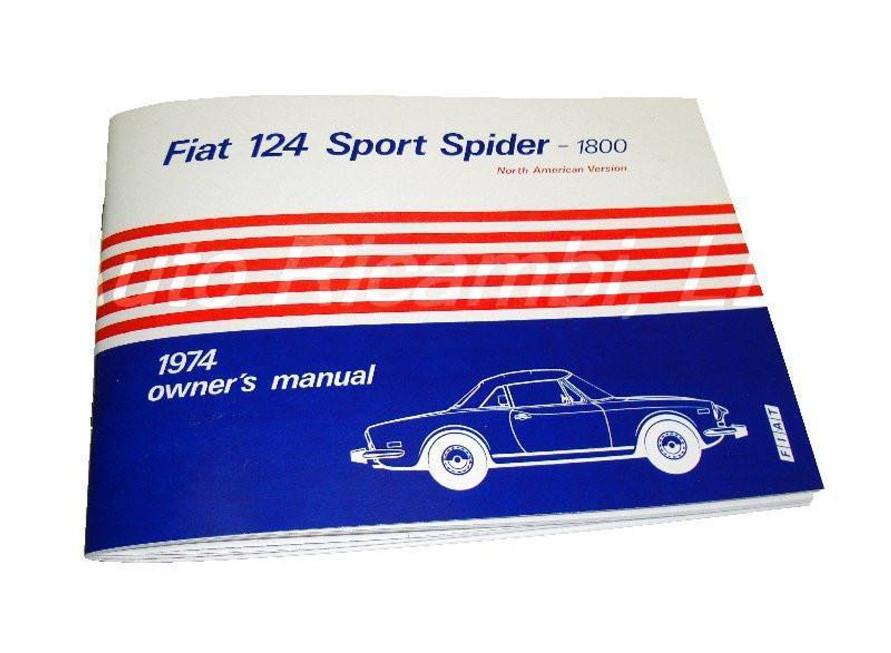 Owners Manual - 1974