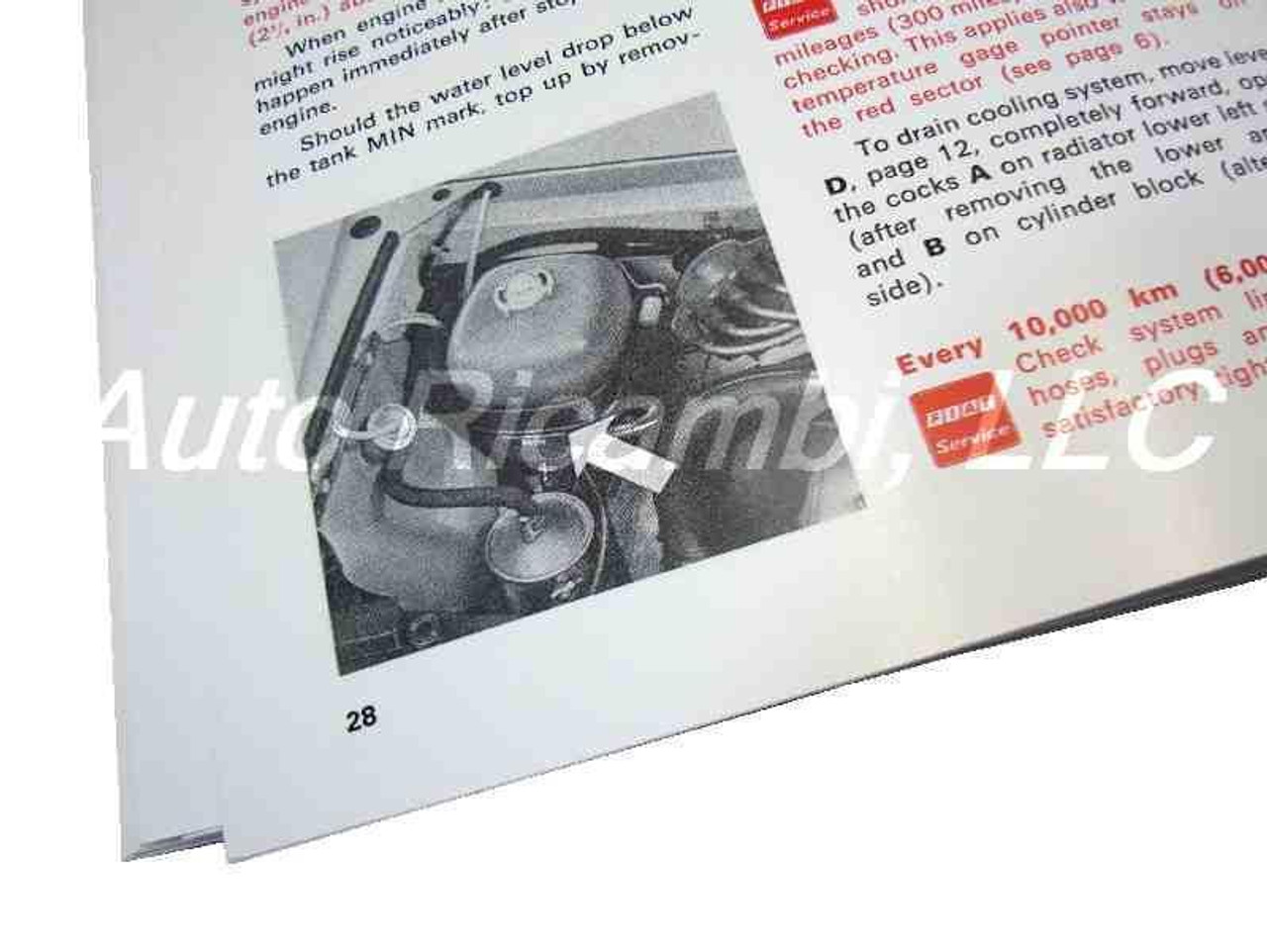 Owners Manual - 1972