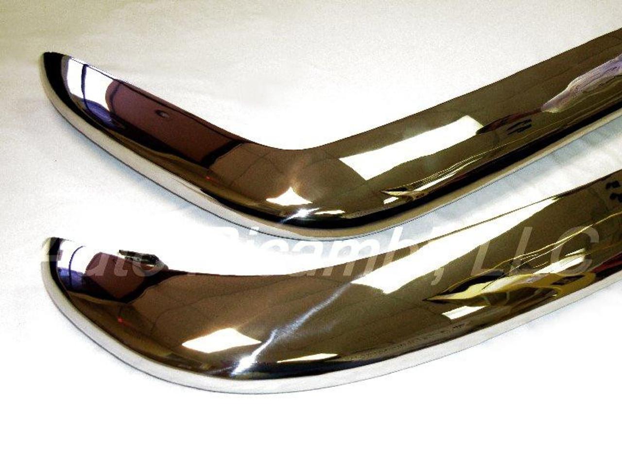 Chrome Bumper Set with Brackets