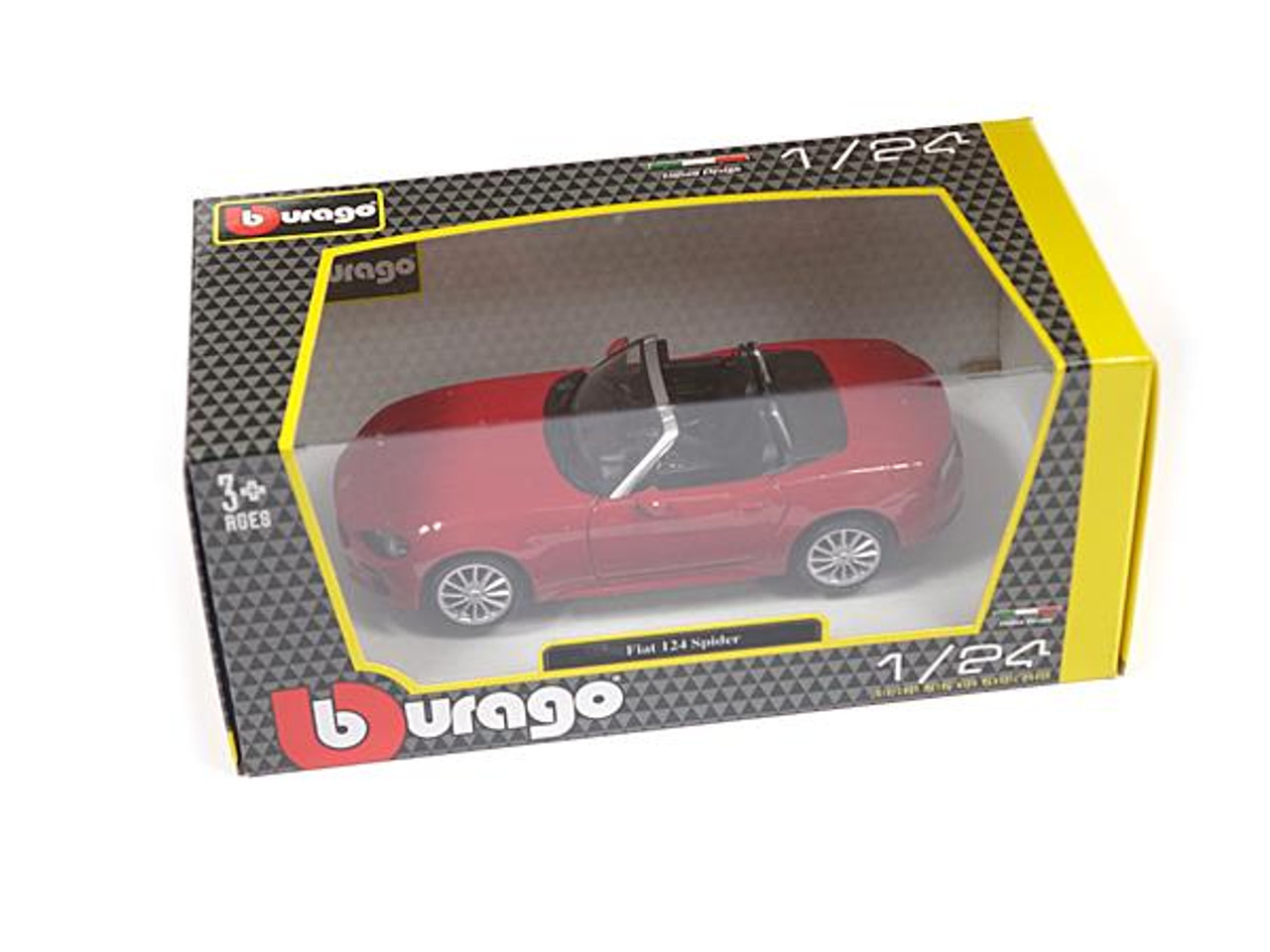 124 Spider Scale Model