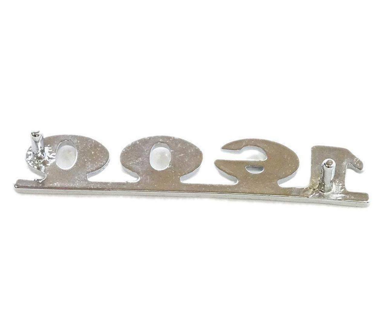 1600 Rear Emblem - 1971-72