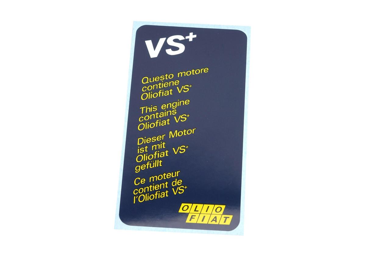 VS+ Olio FIAT Decal