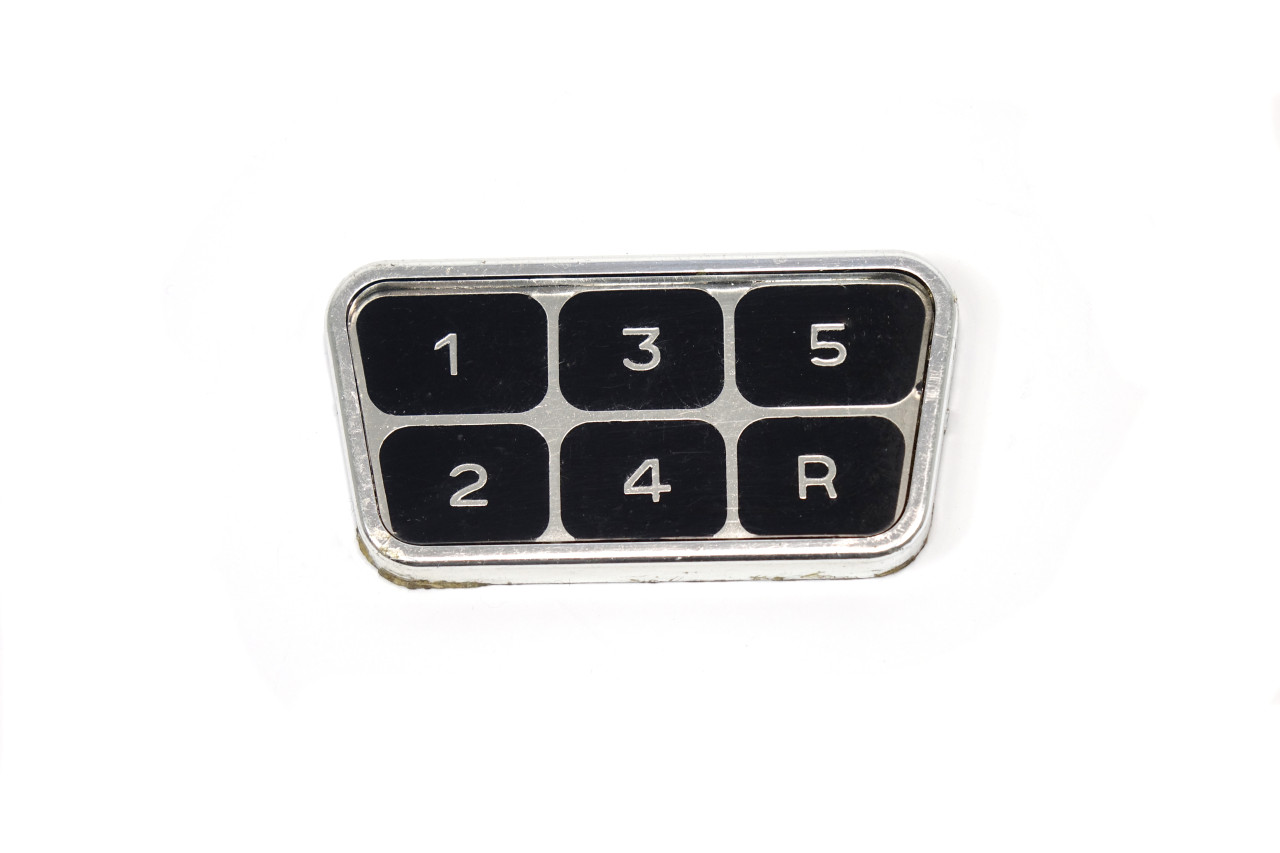 Shift Pattern Emblem - 1979-82