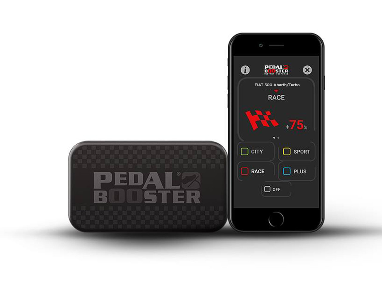 Bluetooth Pedalbooster by Seletron - Auto Ricambi Fits all 2012-on FIAT 500 1.4L Multiair