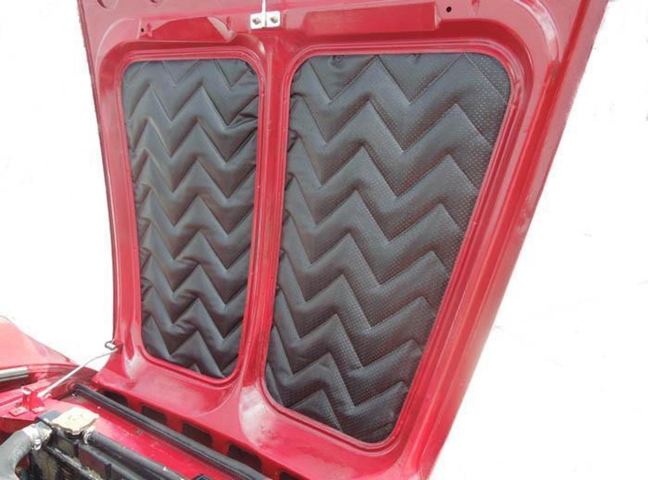 OEM Hood insulation liner pad set - Auto Ricambi FIAT 124 Spider - 1966-1978