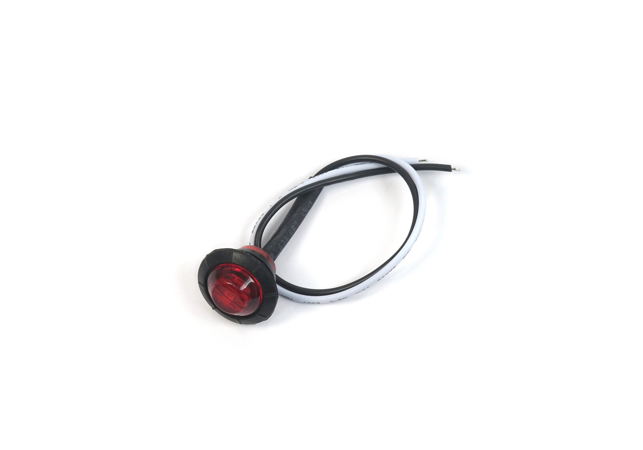 Red round LED marker light Various uses - Auto Ricambi