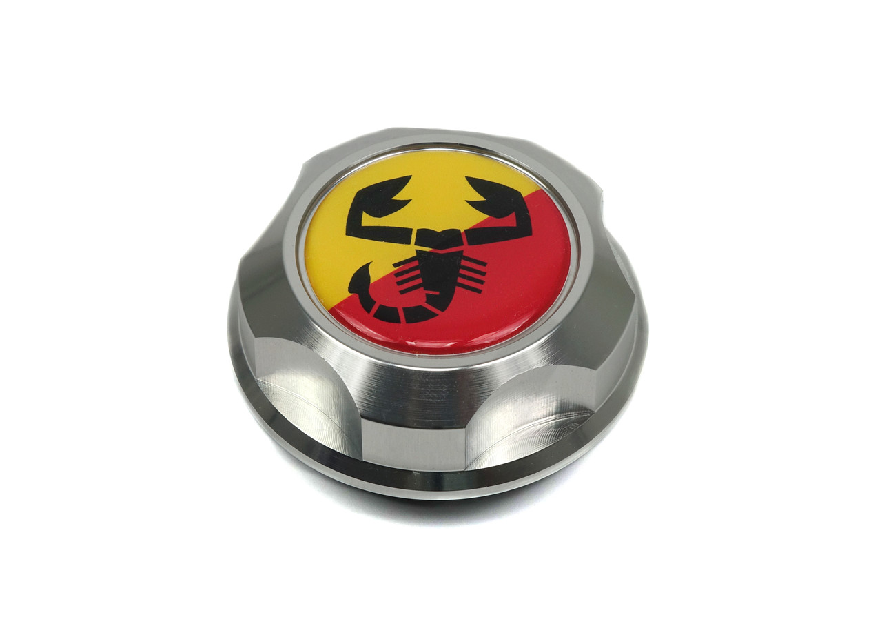 Billet oil filler cap - FIAT or Scorpion style FIAT 124 Spider, Sport Coupe, Spider 2000 and Pininfarina - 1966-1985 - Auto Ricambi