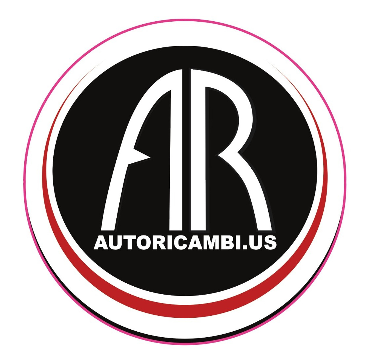 Auto Ricambi Round Logo Decal   Approximately 3 inches in diameter. Great for toolboxes to show everyone who the best source for FIAT 124 Spider parts is.