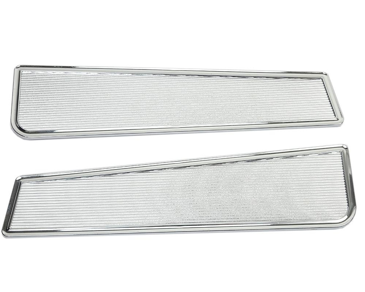 Door Panel Chrome Trim Set - 1966-78