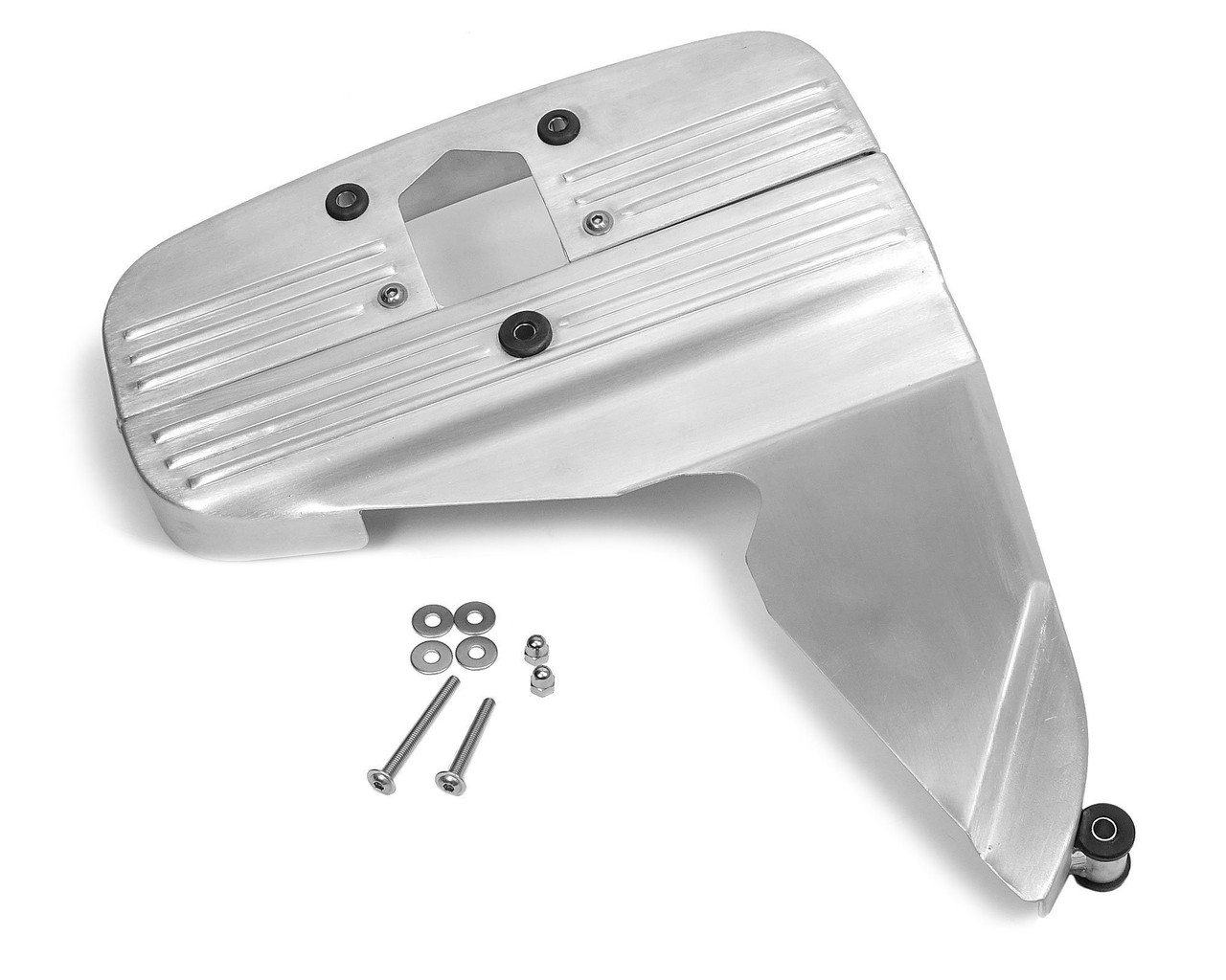 Two Piece Aluminum Performance Timing Belt Cover - 1979-85