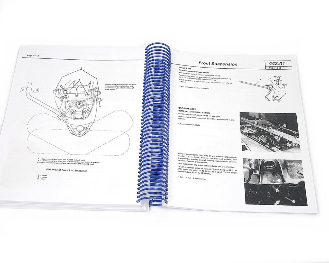 Official Factory Shop Manual