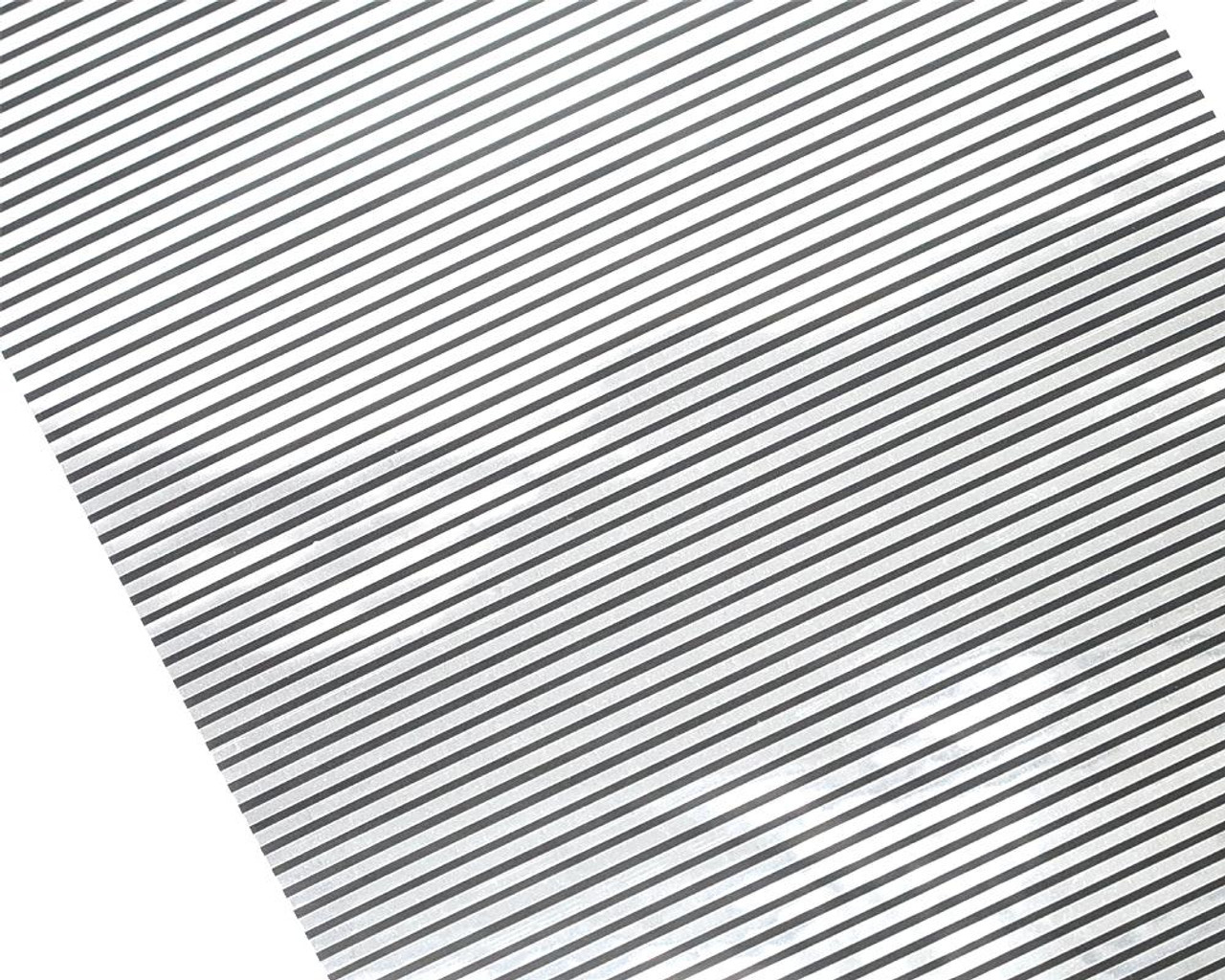Striped Ashtray Decal