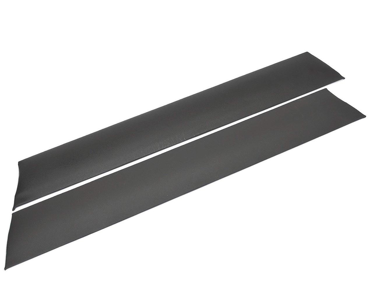 Black Upper Door Panel Pair - 1979-85