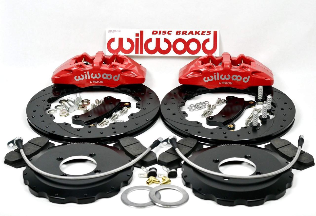 2017-on 124 Spider Wilwood 6 Piston Front Brake Kit