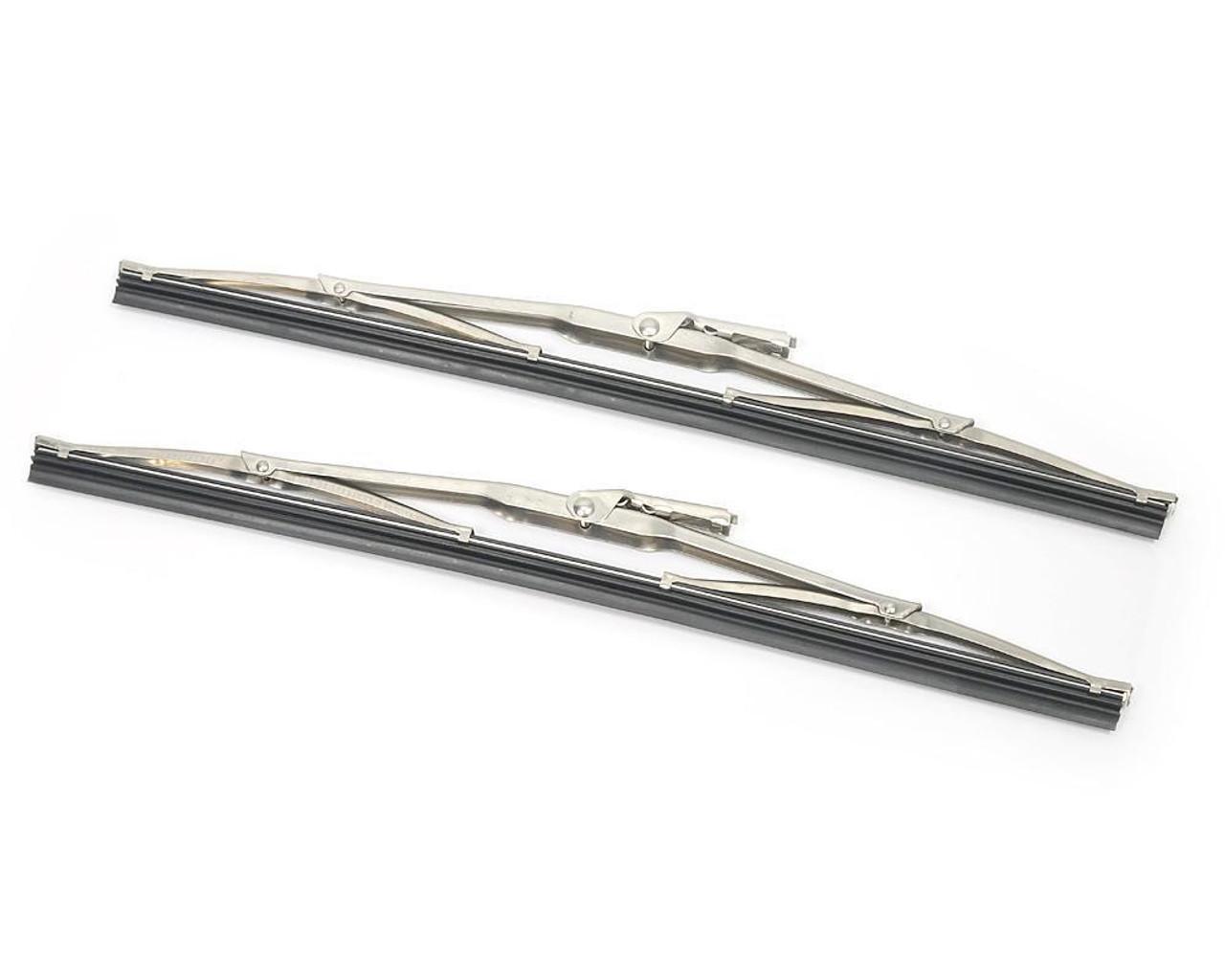 Stainless Steel 13 Inch Wiper Blade Set - 1966-78