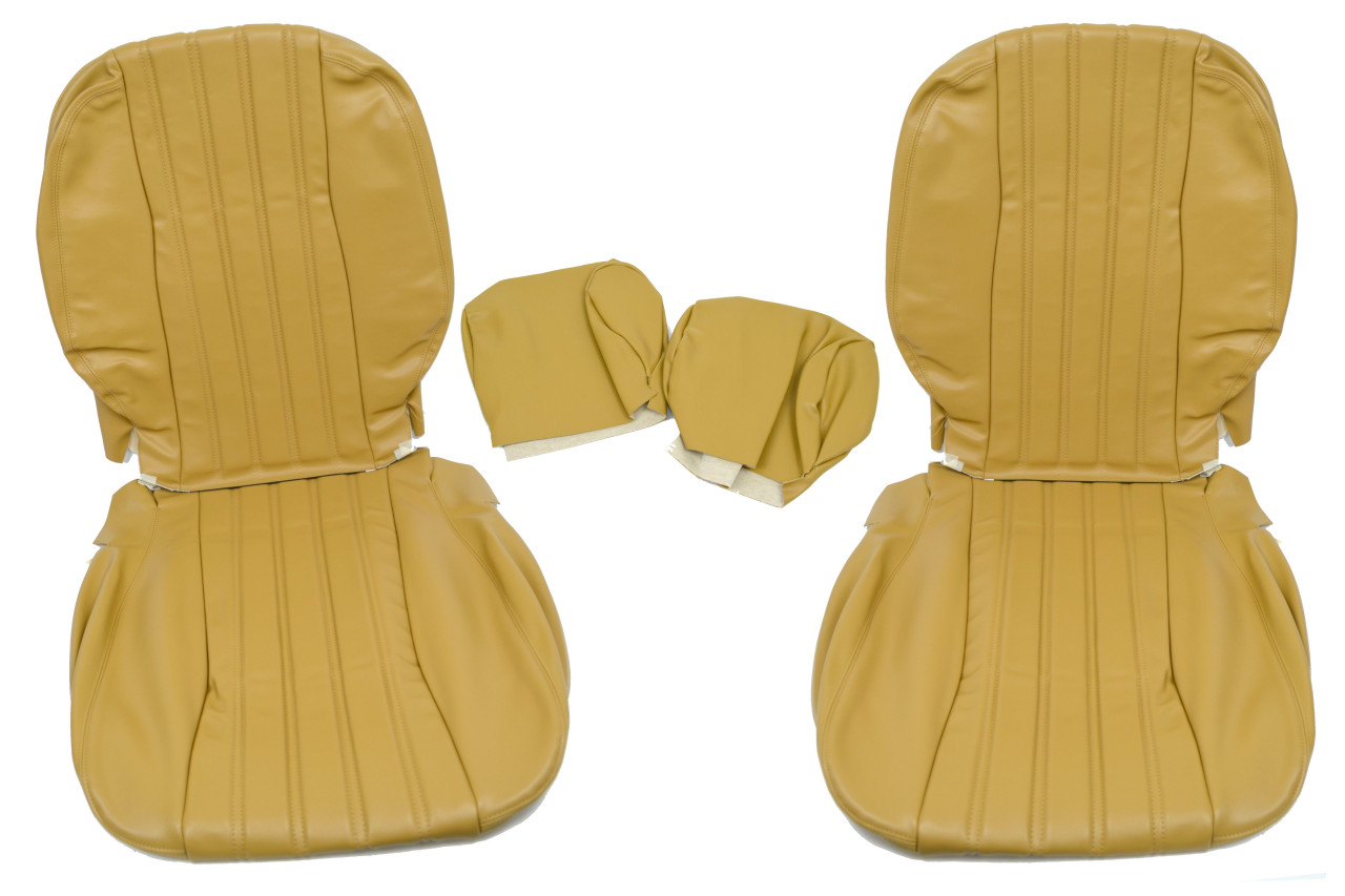 Front Seat Tan Upholstery Kit - 1979-82