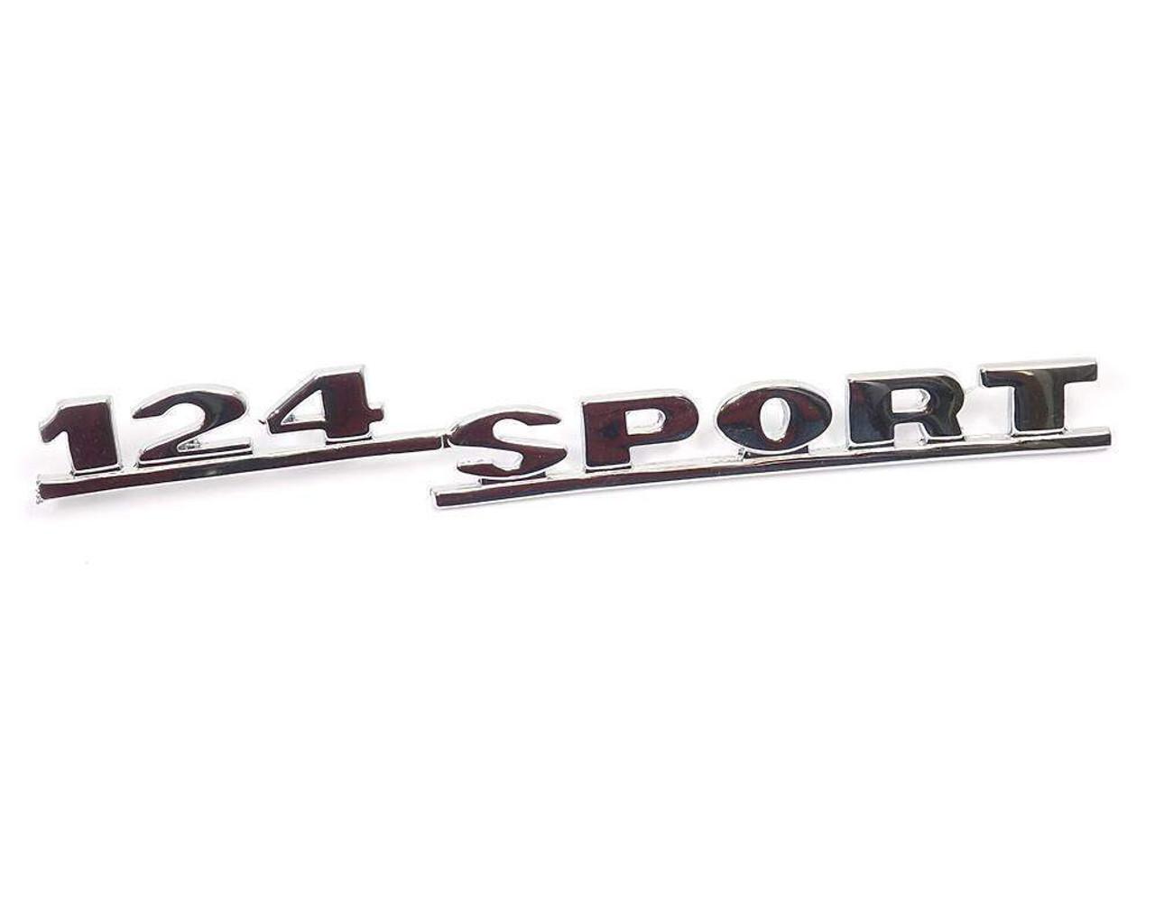 124 Sport Rear Emblem - 1966-72