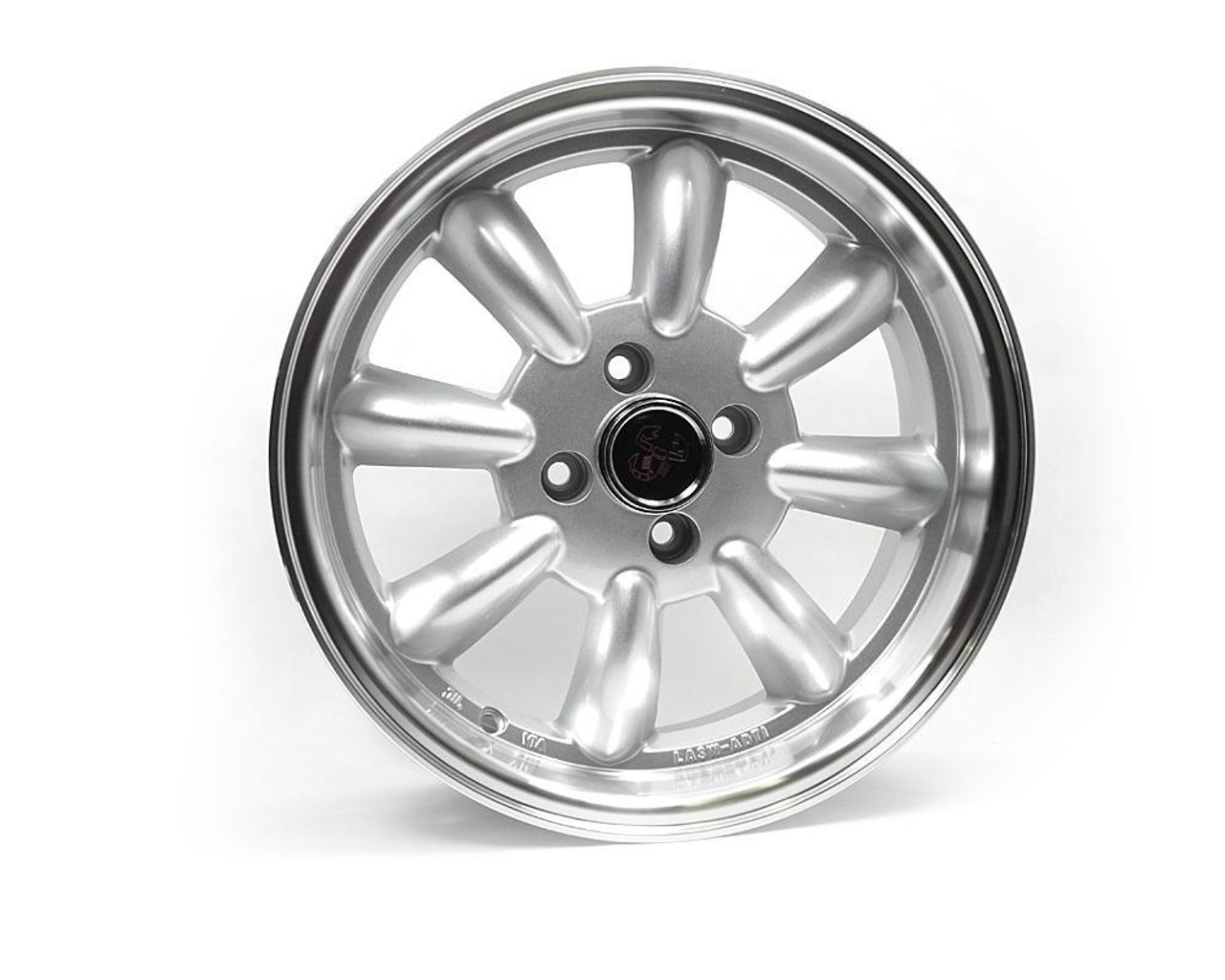 """Monza wheels 15"""" x 6.5"""", 15mm offset in silver - Auto Ricambi Silver"""