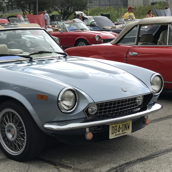 Front Suspension and A-Arm Replacement - Classic FIAT 124 Spider
