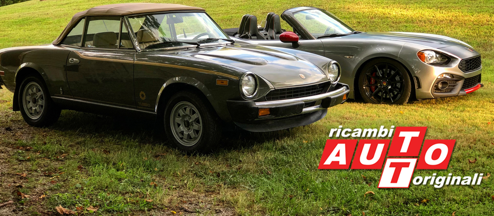 Huge inventory for Classic and New FIAT 124 Spiders