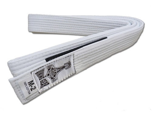 Kids Viking Gear White BJJ Belts