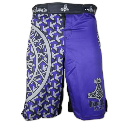 Viking Essentials: Tyr's Steel MMA Shorts