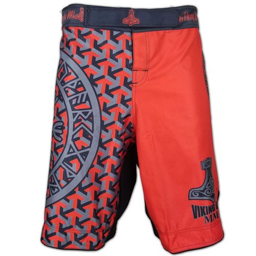 Viking Essentials: Tyr's Blood MMA Shorts
