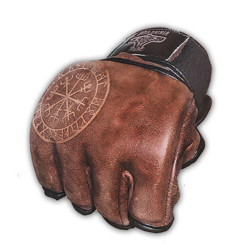 Viking Essentials: Raw Hide 4 OZ Training Gloves