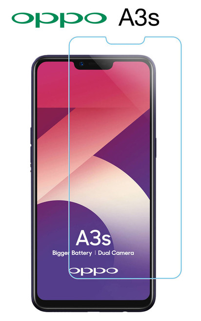 3x Clear or Matte Screen Protector for OPPO A3s