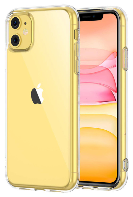 """Crystal Clear Soft TPU Gel Case for iPhone 11 (6.1"""")"""