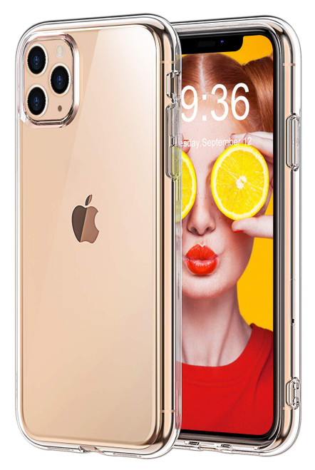 """Crystal Clear Soft TPU Gel Case for iPhone 11 Pro (5.8"""")"""