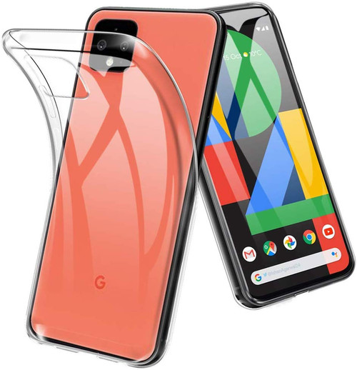 Crystal Clear Soft TPU Gel Case for Google Pixel 4 XL