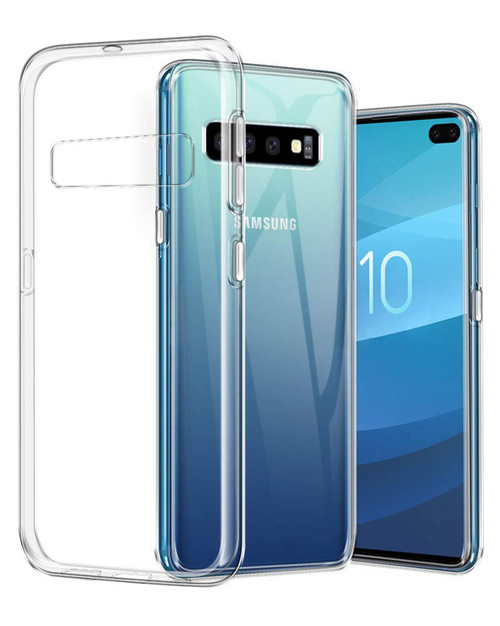 Crystal Clear Soft Gel Case for Samsung Galaxy S10e