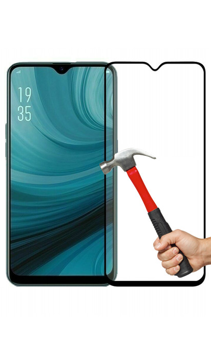 2x OPPO AX7 Premium Full Cover 9H Tempered Glass Screen Protectors