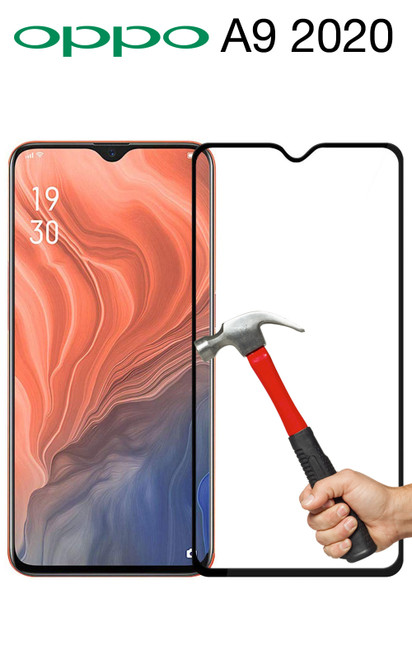 OPPO A9 2020 Full Coverage Tempered Glass