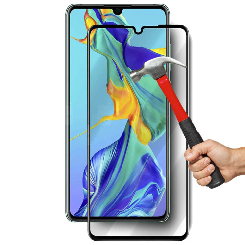 HUAWEI P30 Premium Full Cover 9H Tempered Glass Screen Protectors