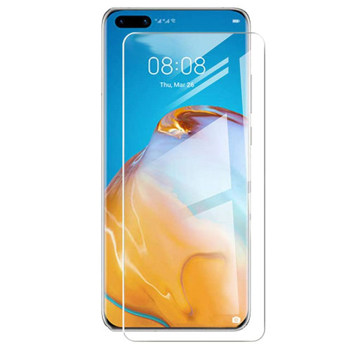 3x Full Cover Clear Film Screen Protector for HUAWEI P40