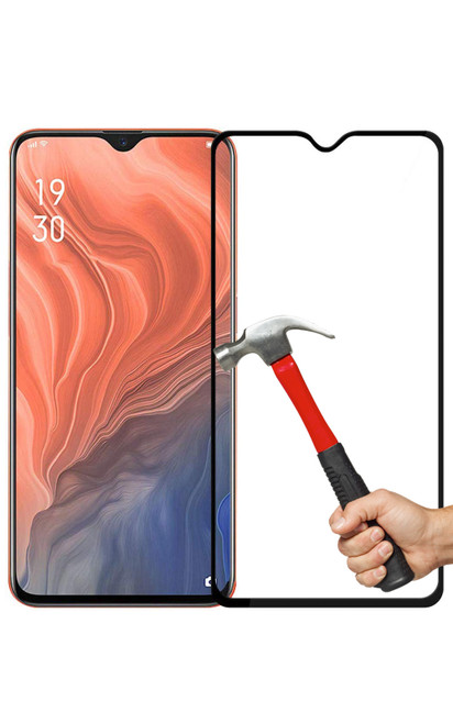 2x OPPO A91 Premium Full Cover 9H Tempered Glass Screen Protectors